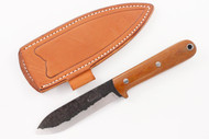 Lon Humphrey Brute de Forge Kephart 3V Natural Canvas Micarta - Scandi #2