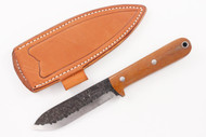 Lon Humphrey Brute de Forge Kephart 3V Natural Canvas Micarta - Scandi #4