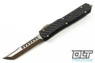 Microtech 119-13CF Ultratech Hellhound - Carbon Fiber / Black Aluminum - Bronze Standard
