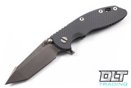 "Hinderer 3.5"" XM-18 Fatty Harpoon Tanto - Gray G-10 - Full Working Finish"