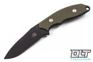 Hinderer Flashpoint - Black DLC - OD Green G-10