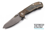 Hinderer MP-1 Canvas Micarta - Full Working Finish