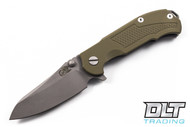 Hinderer MP-1 OD Green G-10 - Full Working Finish