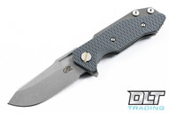 Hinderer Half Track - Gray G-10 - Working Finish