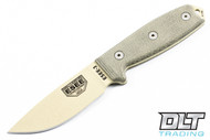 ESEE 3P - Green Sheath - Desert Tan Blade