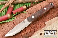Bushcrafter Black & Scarlet Maple Burl - #1
