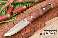 Bushcrafter Burgundy & Gold Maple Burl
