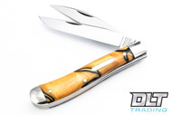 Great Eastern Tidioute - #48 Weasel - Two-Blade - Tiger Eye Acrylic