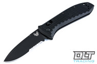 Benchmade 5700SBK Presidio II Auto - Partially Serrated