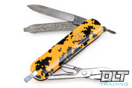 Swiss Army Classic SD Blaze Orange Digital Camo