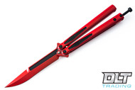 Microtech 173-1DP Tachyon III S/E - Red Handle - Red Blade