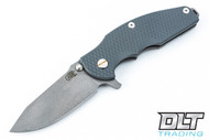 Hinderer Jurassic - XM Texture Gray G-10 - Full Working Finish