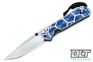 Chris Reeve Small Sebenza - Blue Hex