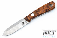 Koster WSS Neck Knife - Desert Ironwood Burl - #3