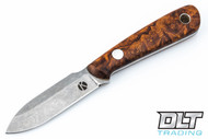 Koster WSS Neck Knife - Desert Ironwood Burl - #12