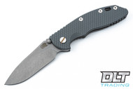 "Hinderer 3.5"" XM-18 Non Flipper Slicer - Full Working Finish - Gray G-10"