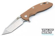 "Hinderer 3.5"" XM-18 Fatty Harpoon Tanto - Coyote G-10"