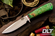 Ultra Lite Hunter 2 Green & Gold Burl - #1