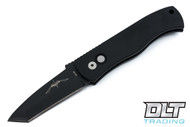 Pro-Tech Emerson CQC-7 - Automatic - Black Handle - Black Blade