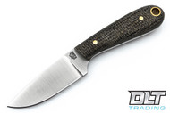 LT Wright Frontier First O1 - Flat Ground - Black Shadetree Micarta