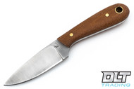 LT Wright Frontier First O1 - Flat Ground - Natural Canvas Micarta - Matte