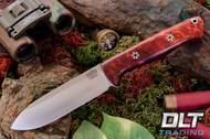 Bravo 1.25 LT Cru-Wear Hellfire Maple Burl - Mosaic Pins - Rampless - Spear Point