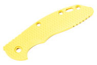 "Hinderer 3.5"" XM-18 Textured Yellow G-10 Scale"