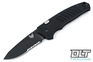 Benchmade 6800SBK Auto APB - Partially Serrated