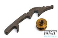 "Hinderer 3.5"" XM-18 HMBS Backspacer - Bronze Anodized Titanium"