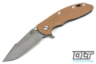 "Hinderer 3.5"" XM-18 Harpoon Spanto - Full Working Finish - Coyote G-10"