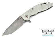"Hinderer 3"" XM-18 Harpoon Tanto - Light Gray G-10 - Full Working Finish"