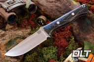 Bravo 1 CPM M4 Teal & Black Lizard Skin - White Liners