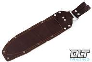 JRE Leather Sheath - Overland Machete