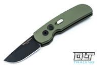 Pro-Tech Calmigo - Green Handle - Black Blade