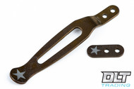 Hinderer Clip & Filler Tab - Bronze Anodized - Star Engraved