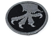 Microtech Eagle Claw Patch - Black & Gray