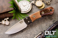 Essential CPM-154 - Carbon Fiber Bolster - Natural Maple Burl - Copper Acrylic Hybrid