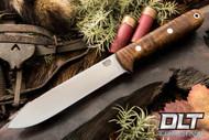 Kephart 4V - 5 Inch - Dark Curly Maple - #10