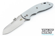Hinderer XM-18 Slipjoint Sheepsfoot - Grey G-10