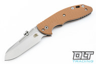 Hinderer XM-18 Slipjoint Sheepsfoot - Coyote G-10