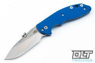 Hinderer XM-18 Slipjoint Slicer - Blue G-10