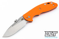 Hinderer XM-18 Slipjoint Slicer - Orange G-10
