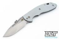 Hinderer XM-18 Slipjoint Slicer - Grey G-10