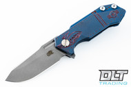 Hinderer Half Track - Warthog - Battle Blue - Deep Purple Milling