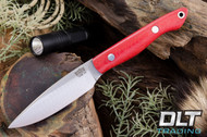 Kalahari Thorn CPM-154 Red Linen Micarta