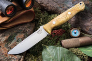 Bark River Gunny Elmax Gold Black Ash Burl