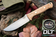 Bravo 1 Elmax LT Birdseye Maple - Red Liners - Brass Hardware