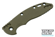 "Hinderer 3.5"" XM-18 4-Way Scale Kit - Textured OD Green G-10"