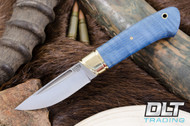 Brokk Blue Tigertail Maple Burl - #1