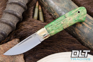 Brokk Green & Gold Elder Burl - #1
